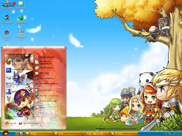 themes for my story theme xp maple story online by vinhxomdoi on deviantart