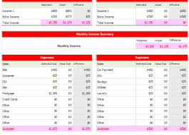 personal budget planner excel budget templates for excel