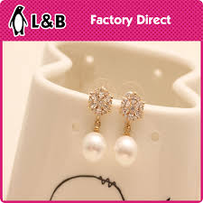 gold earrings tops 2015 pearl earrings fashion gold ear tops designs buy fashion