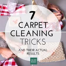 How To Clean A Sisal Rug We Tried 7 Diy Carpet Cleaning Tricks Here U0027s What Worked Huffpost