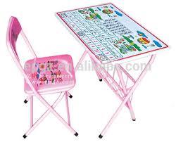 bureau plastique enfant gros space saving portable bureau et chaise pliante enfants enfant
