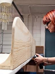 How To Make A Tufted Headboard How To Make A Tufted Wingback Headboard How Tos Diy