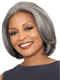 human hair in salt and pepper foxy silver wigs hsw wigs