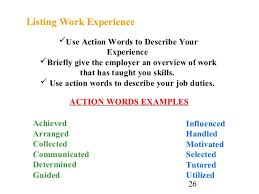 Top Words To Use In Resume Top Words To Use In Resume Resume Ideas