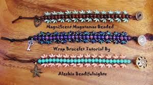 youtube bead bracelet images Magnificent magatamas beaded wrap bracelet tutorial jpg