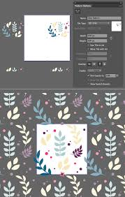 seamless pattern creator design a floral seamless pattern in adobe illustrator vectips
