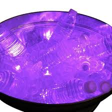 12ct submersible battery operated led lights purple target