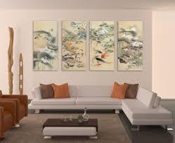living room oversized wall art grey velvet ottoman coffee table