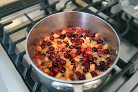 cranberry apple sauce thanksgiving thanksgiving side dish sweet and tangy cranberry apple chutney