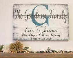 Pallet Wedding Decor Blended Family Sign Etsy