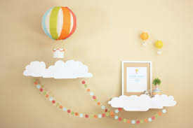 hot air balloon decorations nursery hot air balloon decorations nursery decorating ideas