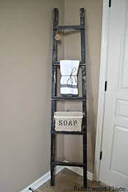 primitive decorating ideas for bathroom beachwood place primitive bathroom ladder