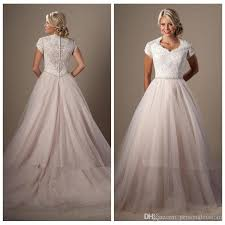 bridal gowns online discount lace top corset sleeves tulle skirt wedding dresses