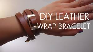 leather bracelet wrap make images Diy belt to leather wrap bracelet jpg