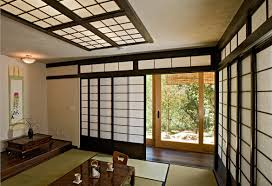 high quality shoji sliding doors cherry tree design