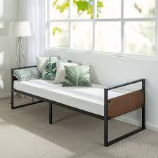 brayden studio kilby narrow frame day bed with foam mattress