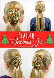 braided christmas tree hairstyle in hairland
