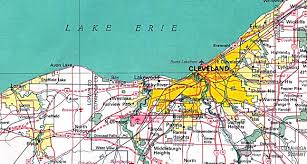 Map Of Mason Ohio by Cleveland Map Cleveland Street Map