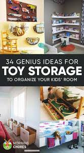 Toy Storage Ideas 34 Quick Toy Storage Ideas U0026 Organization Hacks For Your Kids U0027 Room