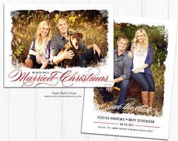 christmas wedding save the dates etsy