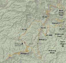 Bear Creek Trail Map Mulberry Gap Trails Maplets