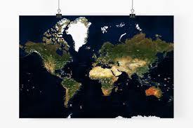 Dc World Map by Hybrid World Map World Maps Poster Customaps
