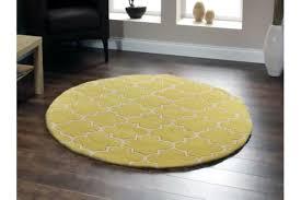 Yellow Lattice Rug Lattice Chartreuse Yellow Round Rug 150x150cm Kogan Com