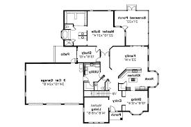 mediterranean house plan amherst 11 030 1st floor plan