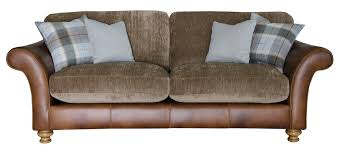 Leather With Fabric Sofas Stunning Sofas With Leather And Fabric 98 For Your With Sofas With