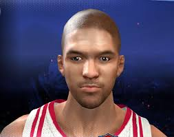 chandler parsons hairstyle nba 2k14 chandler parsons cyberface bald nba2k org