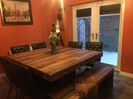 dining room table ls industrial theme dining room table and chairs from barker and