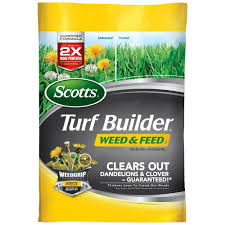 scotts 15 lb 5 m turf builder weed and feed 25006 the home depot