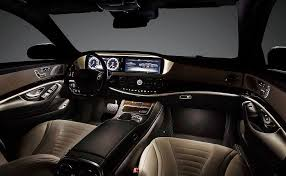 2014 S550 Interior S Class 2014 By Mercedes