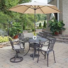 5 Pc Patio Dining Set Home Styles Largo 48 In 5 Outdoor Patio Dining Set 5560