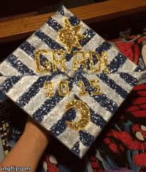 high school graduation caps animated my high school graduation cap by emmajh97 on deviantart