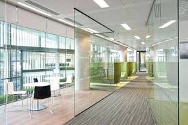 Glass Wall Panels Office Partition Walls Ukcrl Cascade Glass Wall System Panels