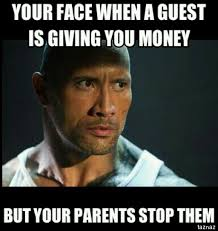 Money Problems Meme - childhood problems