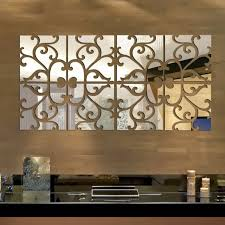 tile stickers ebay 32pcs 3d vine mirror wall stickers art acrylic tile decal home decor removable