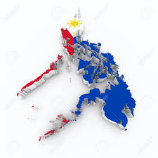 Philippines Flag Philippines Flag On 3d Map Stock Photo Picture And Royalty Free