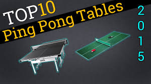 compare ping pong tables top 10 ping pong tables 2015 compare table tennis youtube