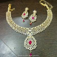 stone necklace sets images American diamond necklace set from dimple collections south jpg