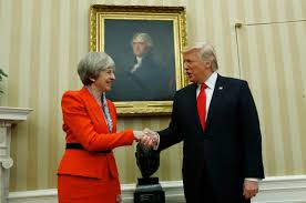 watch president donald trump and british prime minister theresa