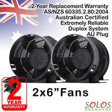 intake fan for grow tent 150mm 6 hydroponic fan inline exhaust intake double ventilation
