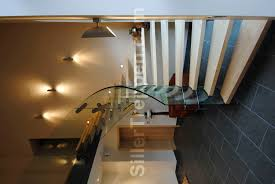Quarter Turn Stairs Design Quarter Turn Staircase Wooden Steps Without Risers