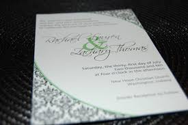 unique flat card wedding invitation by your forever boutique