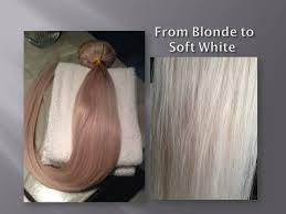 white hair extensions toning human hair extensions to soft white f