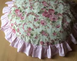 Cushions Shabby Chic by Pink Floral Cushion Etsy