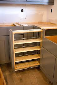 cabinet gap filler how to fill gap between cabinet and floor shelves to fill in gap