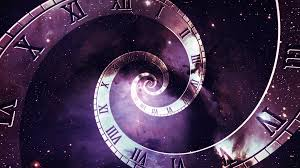 infinity number multiple timelines infinite number of clocks in spiral formation