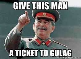 Medal Meme - give this man a ticket to gulag stalin medal meme generator
